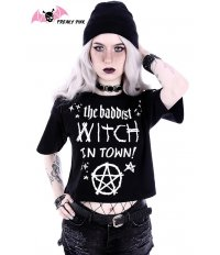 Bad Witch Crop Top