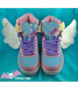 Ailes d'Anges Blanches Pour Chaussures