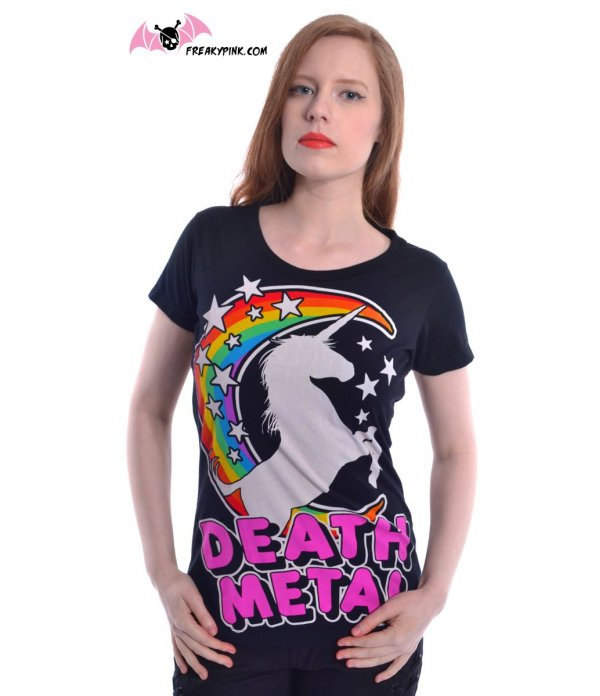 T-shirt Licorne Death Metal