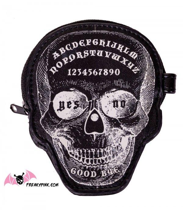 Porte-monnaie Ouija Skull
