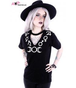 T-shirt Moon Symbols Col V