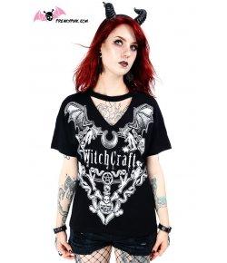 T-shirt Witchcraft avec Choker