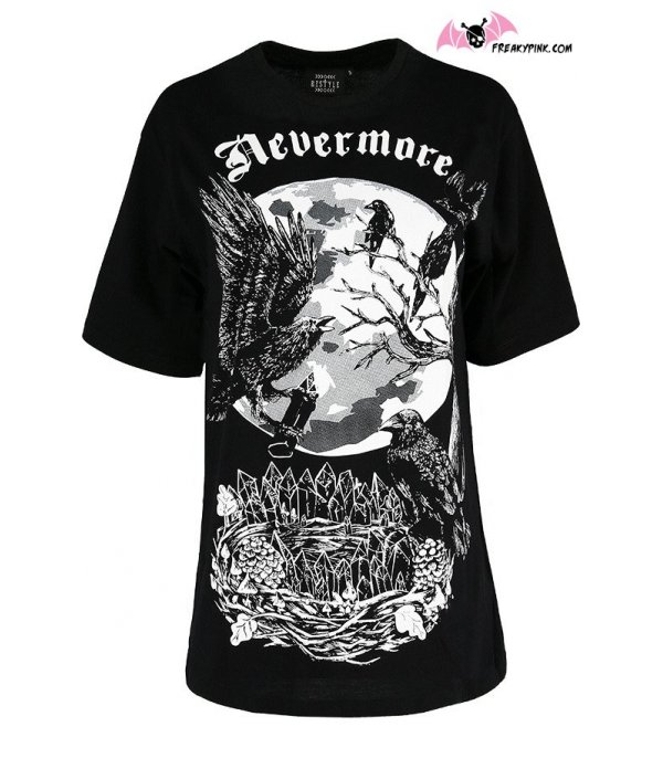 T-shirt Oversized Nevermore