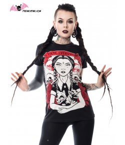 T-shirt Mercredi Addams I Hate Everything