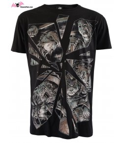 T-shirt Hommes Horror Mirror