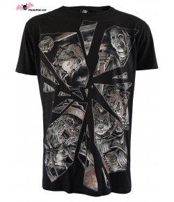 T-shirt Hommes Horror Mirror