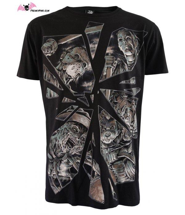 T-shirt Homme Horror Mirror