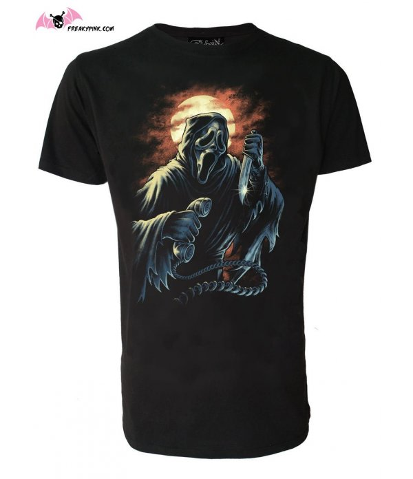 T-shirt Homme Horror Mirror