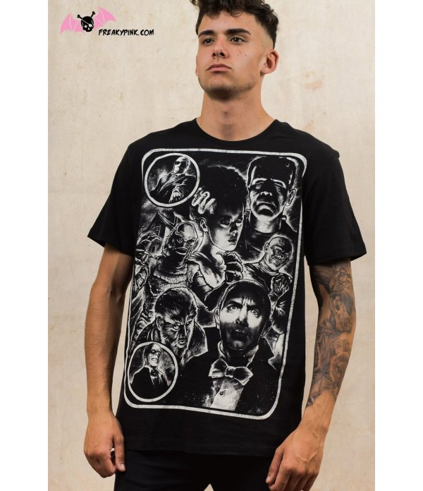 T-shirt Homme Hollywood Monsters
