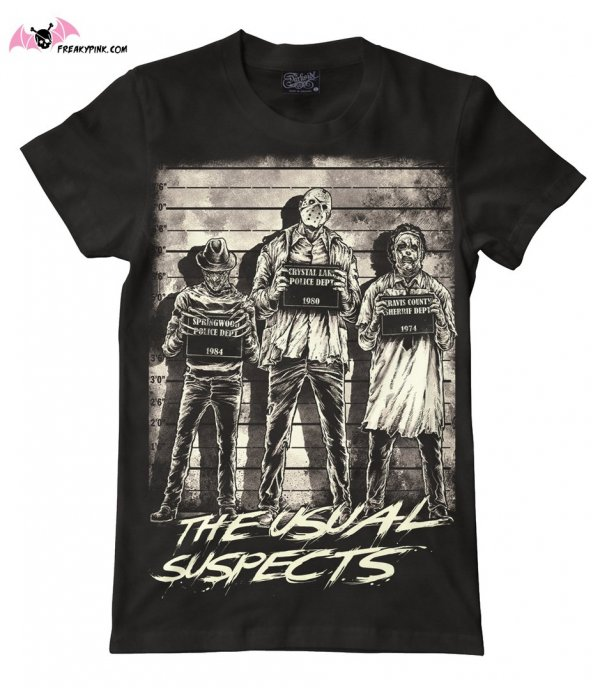 T-shirt Usual Suspects