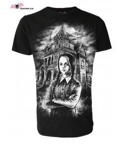 T-shirt Homme Mercredi Addams