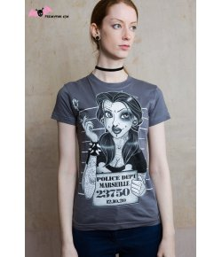 T-shirt Belle Rebelle Tatouée