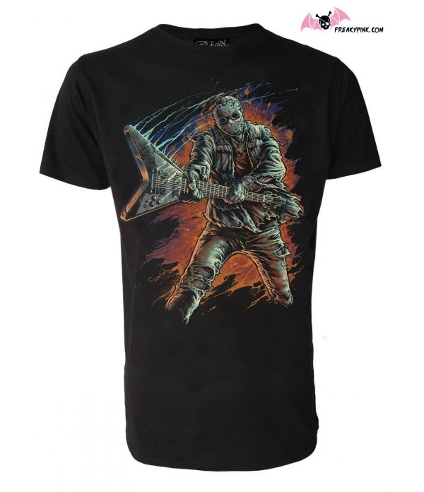 T-shirt  Jason Guitare Rock