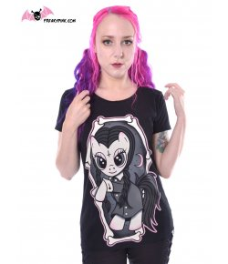 T-shirt Pony Mercredi Addams