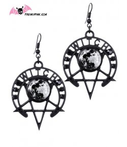 Boucles D'oreilles Witch Moon