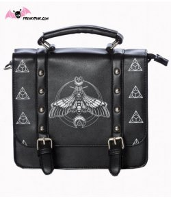 Sac Cartable Papillon de Nuit
