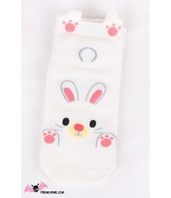Chaussettes Lapin Blanc
