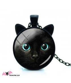 Collier Chat Noir