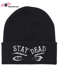Bonnet Gothique Stay Dead