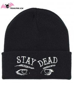 Bonnet Gothique Stay Dead