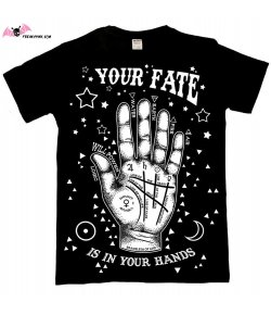 T-shirt Gothique Homme Your Fate