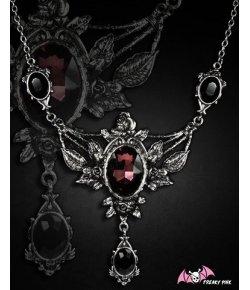Collier Gothique Roses Romantiques