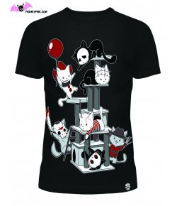 T-shirt Horror Cats
