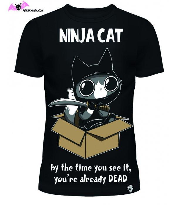 T-shirt Ninja Cat