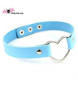 Choker Coeur Bleu