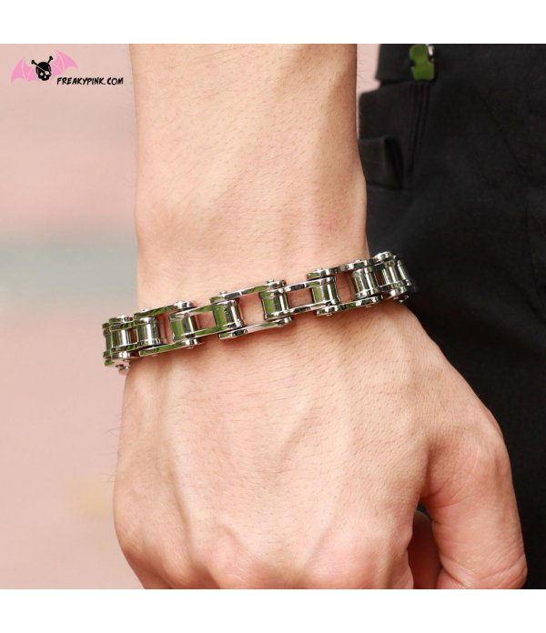 Bracelet Chaîne de Moto