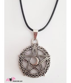 Collier Pagan Pentagramme
