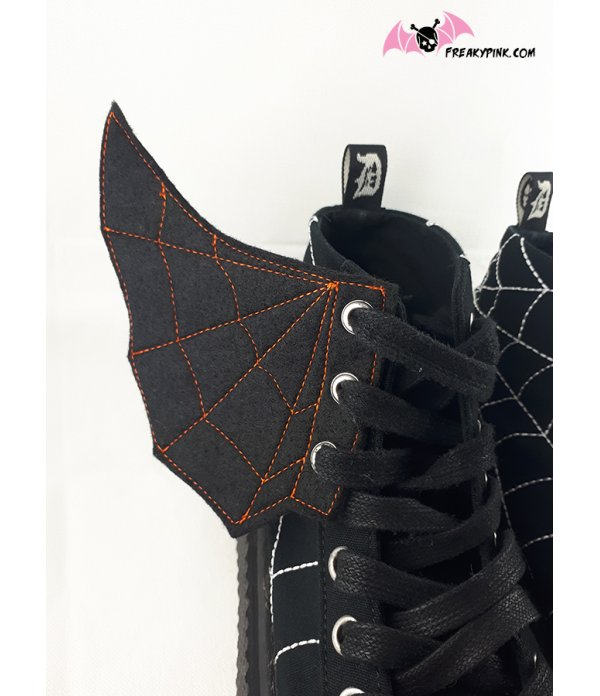 Ailes Pour Chaussures Spider Web Halloween