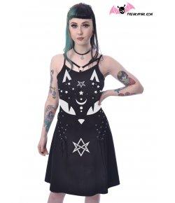 Robe Gothique Pentagramme