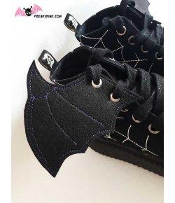 Ailes Pour Chaussures Purple Bat