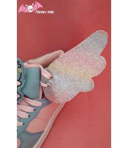 Ailes Glitter Pastel Rainbow