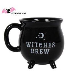 Cauldron Mug Witches Brew