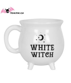 Mug Chaudron Blanc White Witch