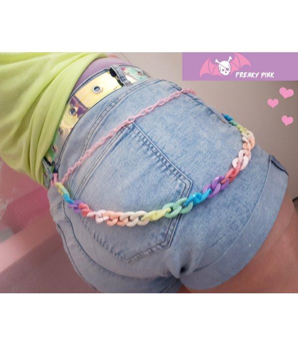 Chaîne Rainbow Pastel