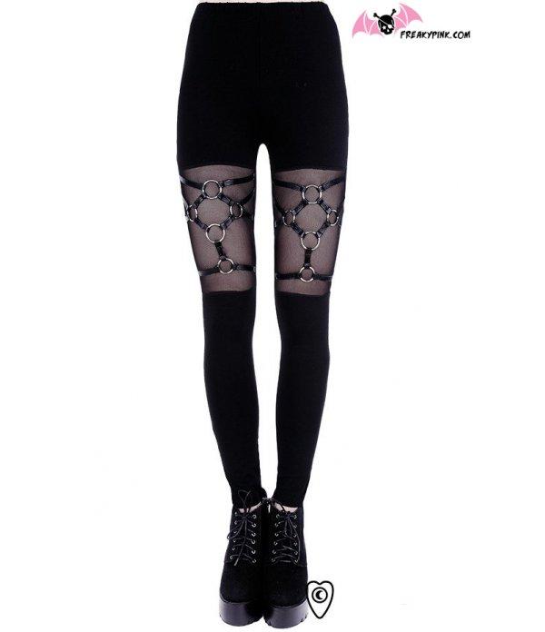 Legging Harnais Gothique