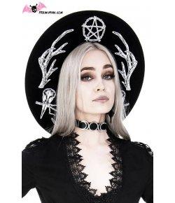 Chapeau Gothique Pagan Pentacle