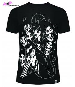 T-shirt Horror Cats