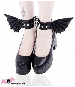 Bracelets de Chevilles Bat Wings