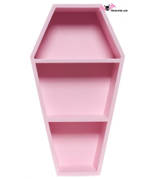Étagère Cercueil Rose