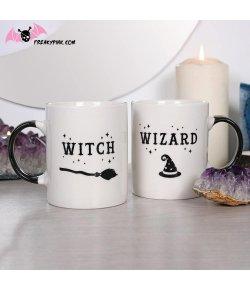 Set de deux Mugs Witch & Wizard