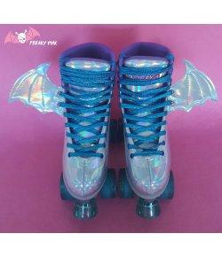 Ailes à Roller Skates Bats Holographiques