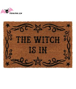 Paillasson The Witch Is In