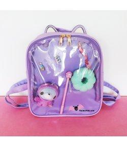 Ita Bag Sac à Dos Violet Oreilles de Chat