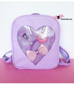 Ita Bag Sac à Dos Coeur Violet