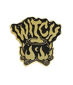 Pins Witch Chaudron
