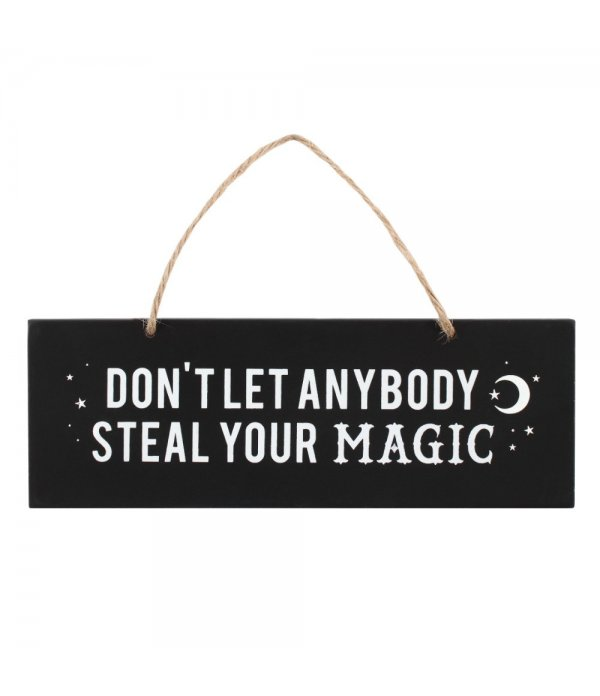 """Décoration murale """"Don't let anybody steal your magic"""""""